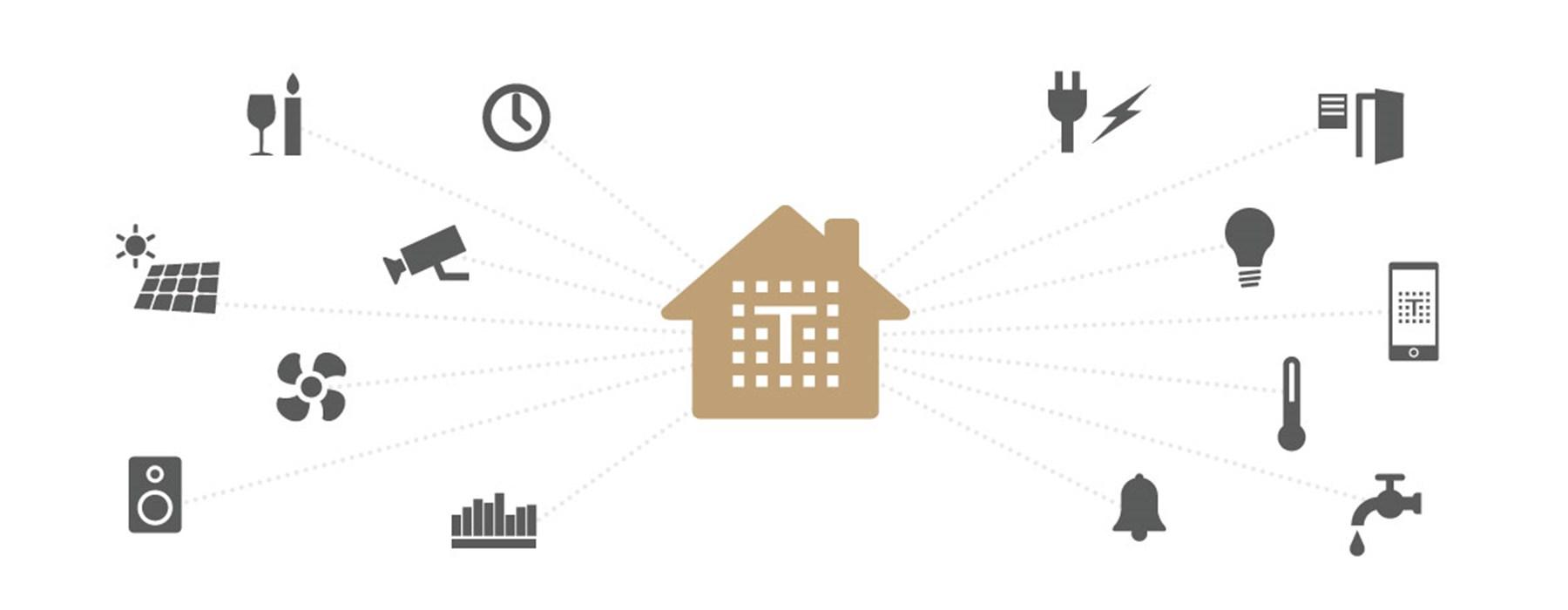 VM Elektro Algemene elektriciteitswerken, domotica teletask